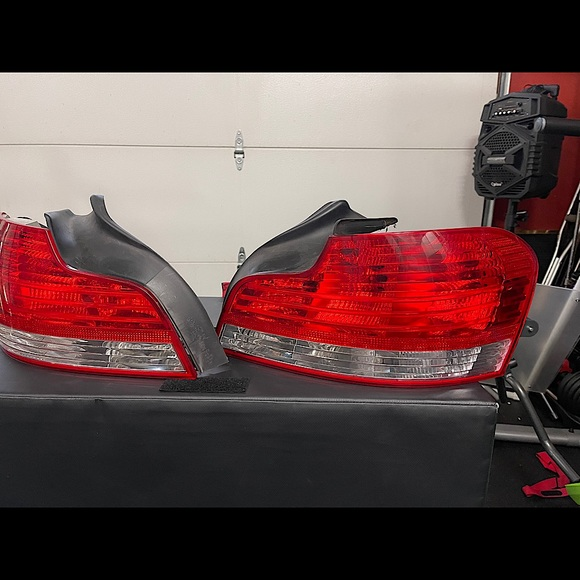 BMW 135i rear brake lights, excellent condition.
